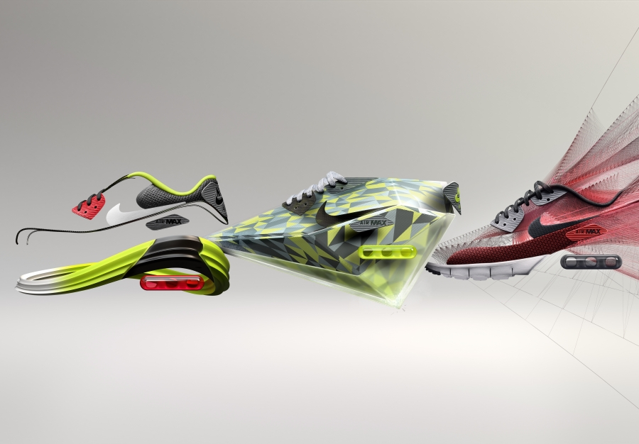 "timeless design 1b952 13386 Air Superiority  Nike Introduces ""ICE"", ""Lunar"", and ""Jacquard"" to the Air  Max 90"
