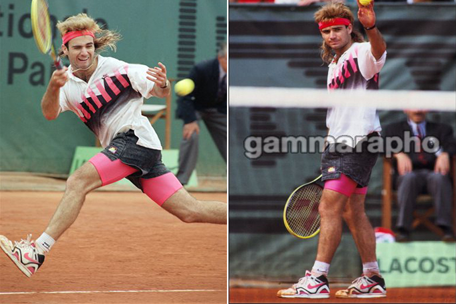 the latest fb876 64480 The Air Tech Challenge II had serious on-court performance to go along with  its good looks. Along with McEnroes resurgence, the ATC2 was on Agassis  feet ...
