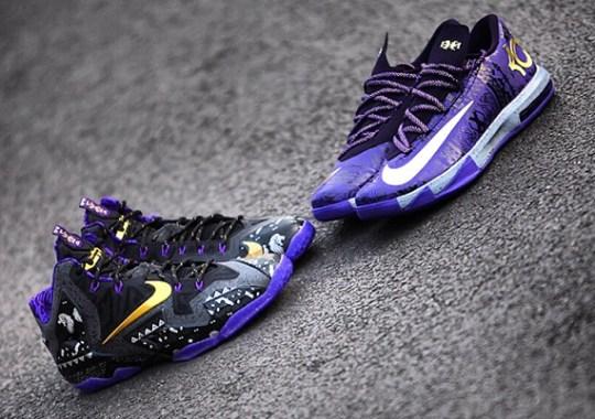 Nike LeBron 11 vs. KD 6 – BHM Edition