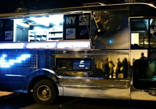 """Nike """"Coffee Truck"""" at 21 Mercer"""