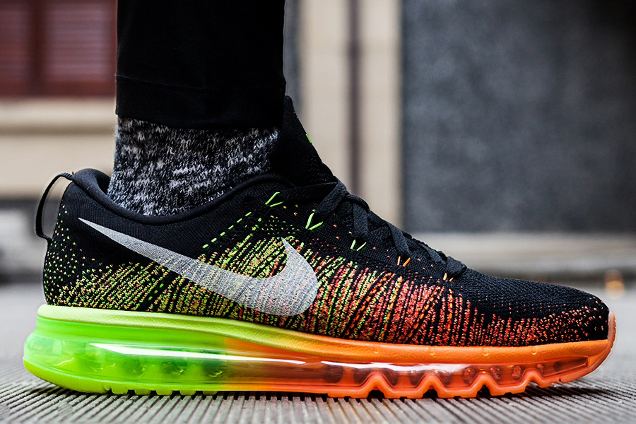 the best attitude d3612 f2e47 Nike Flyknit Air Max – January, 2014. Old meets new. The Air Max x Flyknit  team up finally happened as this model arrived for pre-order late in 2013  (They ...