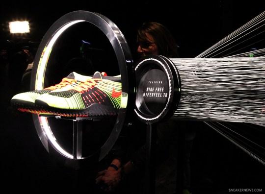 Latest in Flyknit: Nike Free Hyperfeel Trainer