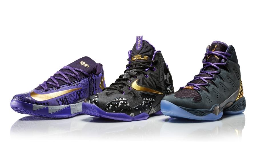Nike basketball shoes 2014 release
