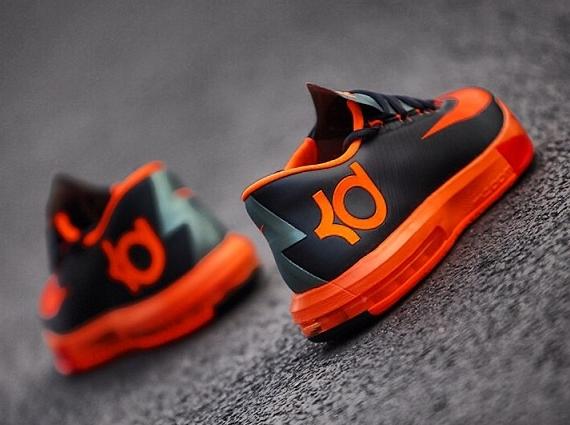 save off dc324 29efc Nike KD 6 - Black - Orange - Red - SneakerNews.com