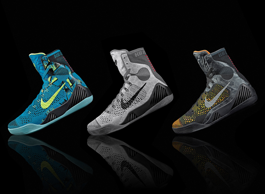 "Nike Kobe 9 Elite ""Inspiration"", ""Perspective"", and ""Detail"" – Release Dates"