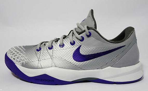 new style 5458d ba2fe Nike Zoom Kobe Venomenon 4 - Grey - Purple - SneakerNews.com