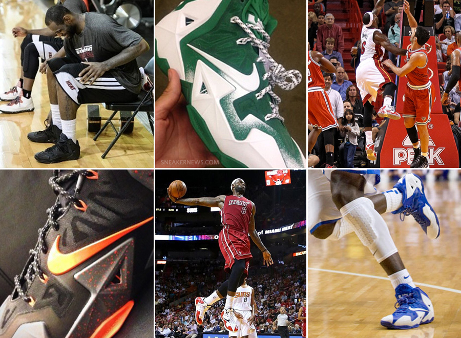 Eleven Nike LeBron 11 PEs You Can Build