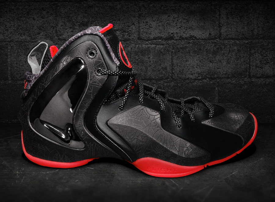 9cadd3ad0d6 Nike Lil  Penny Posite - Black - Red - SneakerNews.com