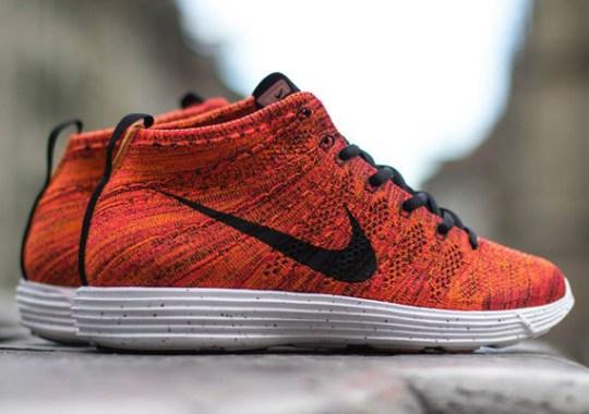 """Nike Lunar Flyknit Chukka """"Bright Crimson"""""""