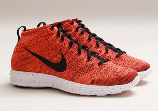 "Nike Lunar Flyknit Chukka ""Bright Crimson"" – Release Date"