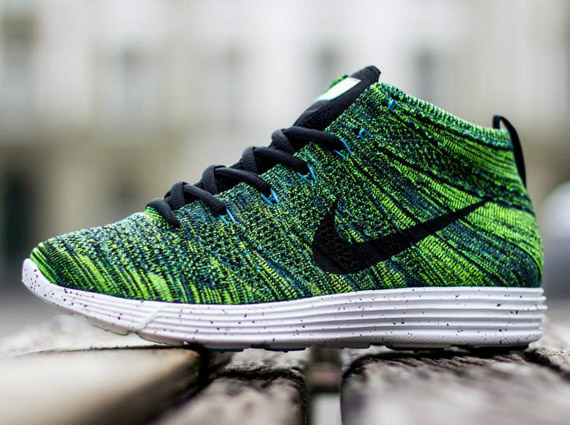 pretty nice 4af47 9ebee Nike Lunar Flyknit Chukka – Night Factor – Black – Volt – White