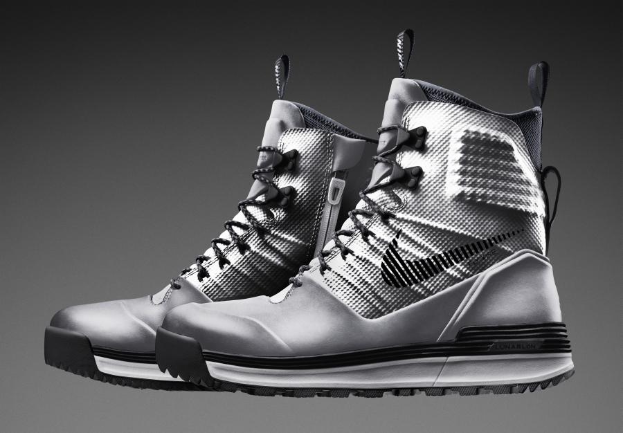 Nike Lunar Terra Arktos Silver Speed For Super Bowl