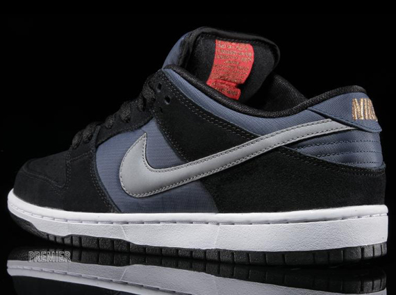 Nike SB Dunk Low – Black – New Slate – Reflective Silver