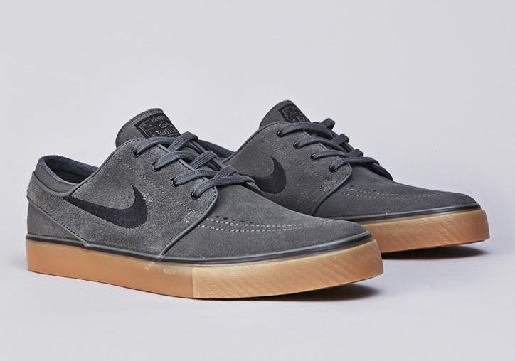f31dbcc7e2f9 Nike SB Stefan Janoski - Dark Base Grey - Black - Gum - SneakerNews.com