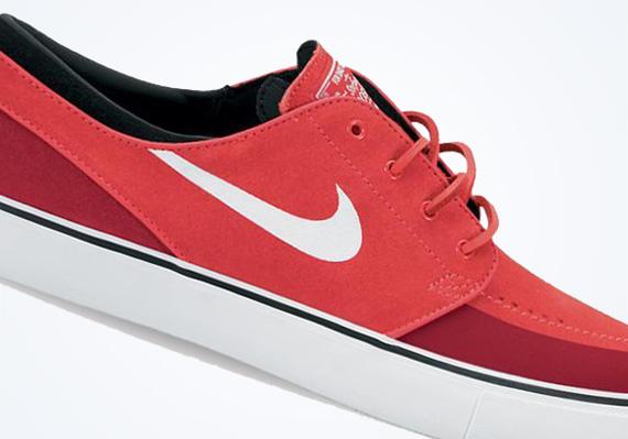 fd61cd321cbc Nike SB Stefan Janoski Premium SE - Light Crimson - Gym Red ...