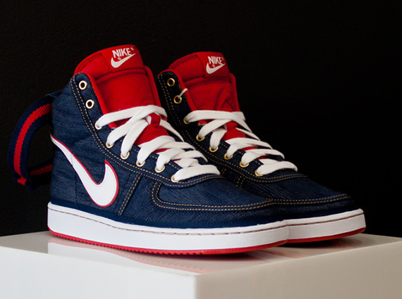 "Nike Vandal High Supreme ""Blue Denim"" - SneakerNews.com"