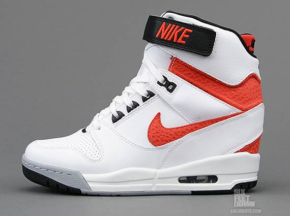 on sale d08ee 495d4 Nike WMNS Air Revolution Sky High – White – University Red