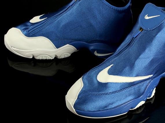 Gary Payton Shoes Blue