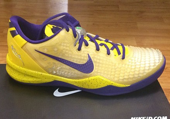 Nick Young S Nikeid Kobe 8 Ss Quot Lakers Quot Sneakernews Com