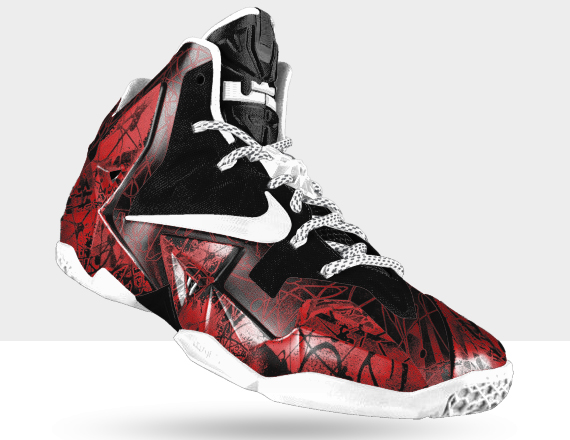 NIKEiD LeBron 11 - Graffiti Option - SneakerNews.com