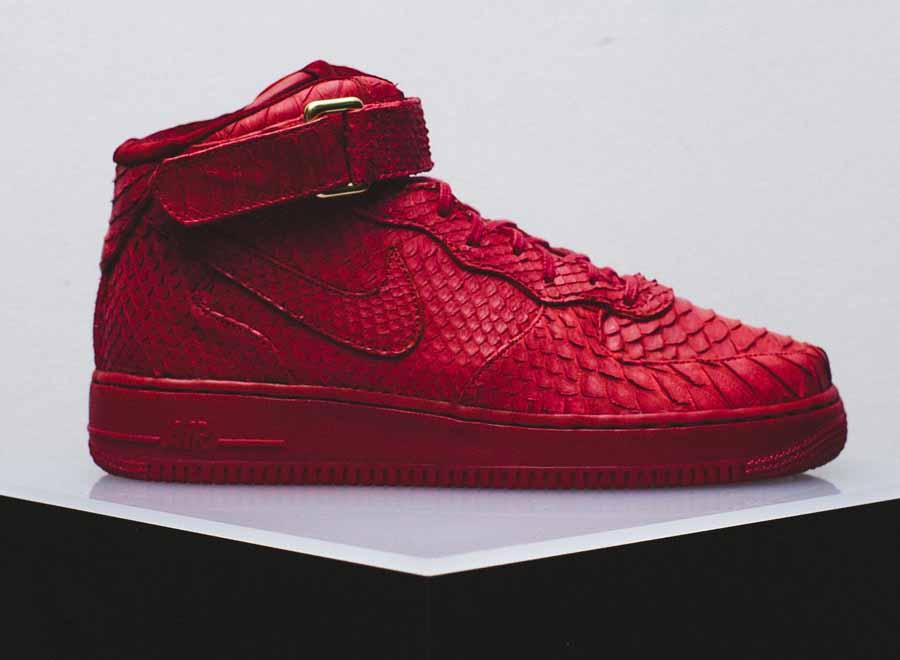 Nike Air Force 1 Mi Python Rouge Acheter offre pas cher Réduction grande remise paiement sécurisé authentique à vendre classique pas cher bZGUUs