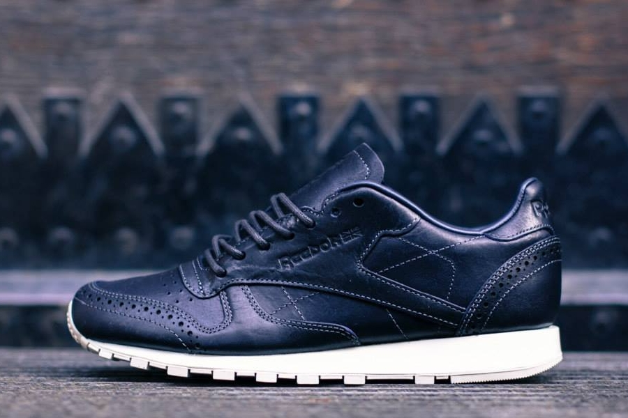 """9c323e5f163 ... Reebok Classic Leather Lux """"Brogue Pack"""" Reebok Classic Leather Lux Brogue  Pack HiConsumption Horween x ..."""