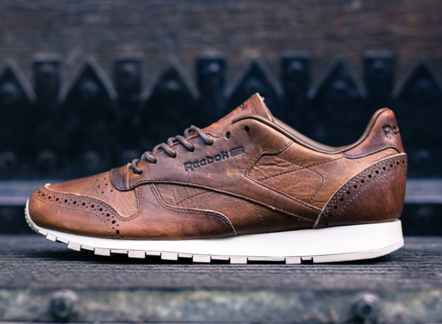 """00310fe3634 Reebok Classic Leather Lux """"Brogue Pack"""" ..."""