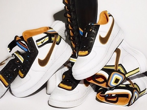quality design 5d6a7 fe365 Riccardo Tisci x Nike Air Force 1 RT Collection
