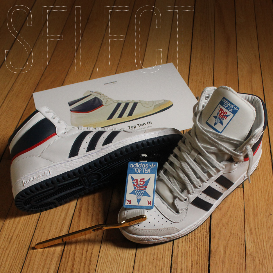 Sneaker News Select: adidas Top Ten 35th Anniversary