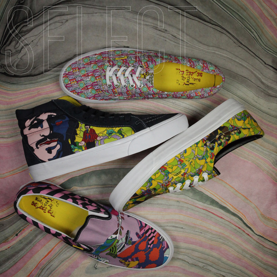 7a2105629a Sneaker News Select  The Beatles Yellow Submarine Capsule by Vans