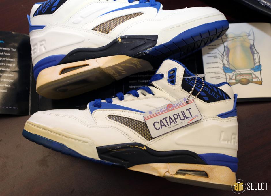 sneaker news select karl malone 39 s la gear catapults. Black Bedroom Furniture Sets. Home Design Ideas