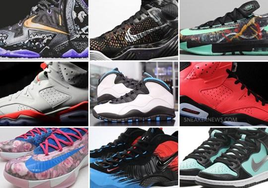 February 2014 Sneaker Releases