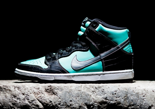 "Diamonds Are Forever: ""Tiffany"" Returns to the Nike SB Dunk"