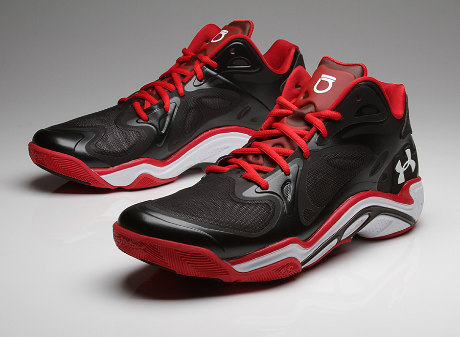 Under armour anatomix spawn low on feet