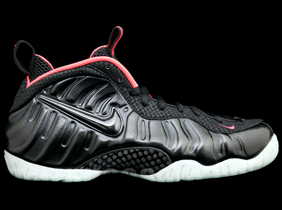 "The Nike Air Foamposite Pro ""Yeezy"" will release on April 19th. Featuring  the familiar colorway seen on the Air Yeezy 2, this Black/Laser Crimson  colorway ..."