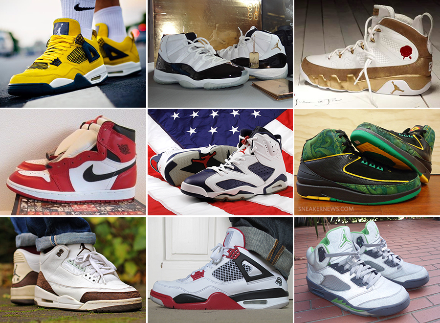8bb0dec6765f 20th Anniversary Special  The Twenty Most Significant Air Jordan Retro  Releases