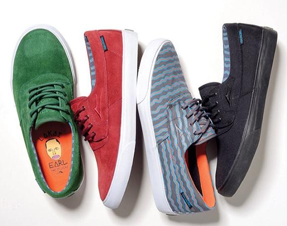 Earl Sweatshirt x Lakai Footwear Collection 01 Earl Sweatshirt x Lakai Camby