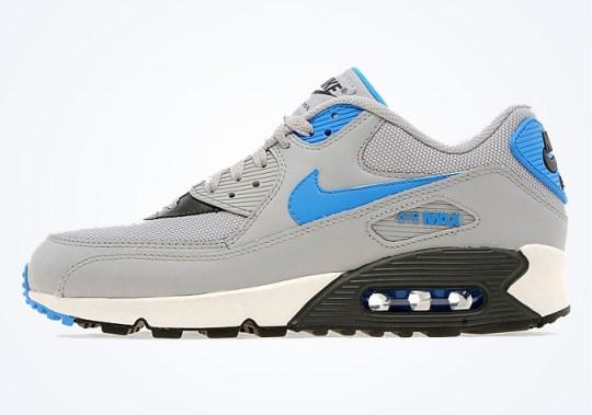 Nike Air Max 90 – Wolf Grey – Photo Blue