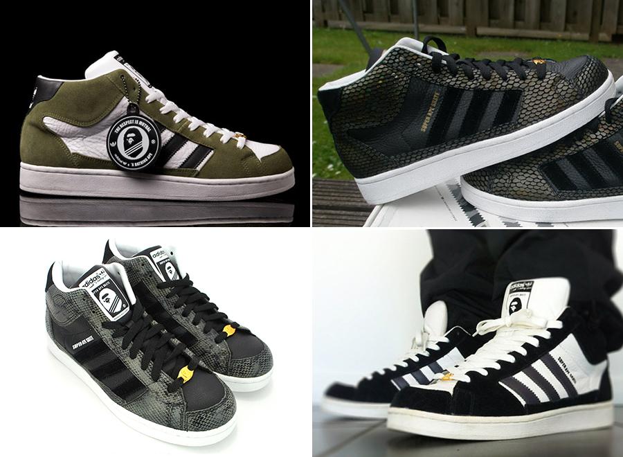 sports shoes 5edaf 905c4 Super Ape Star  History of Bape x adidas Originals - SneakerNews.com