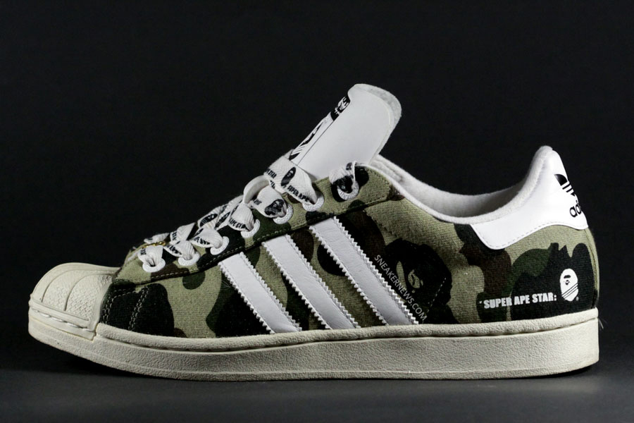 8a9aa806154d Super Ape Star  History of Bape x adidas Originals - SneakerNews.com