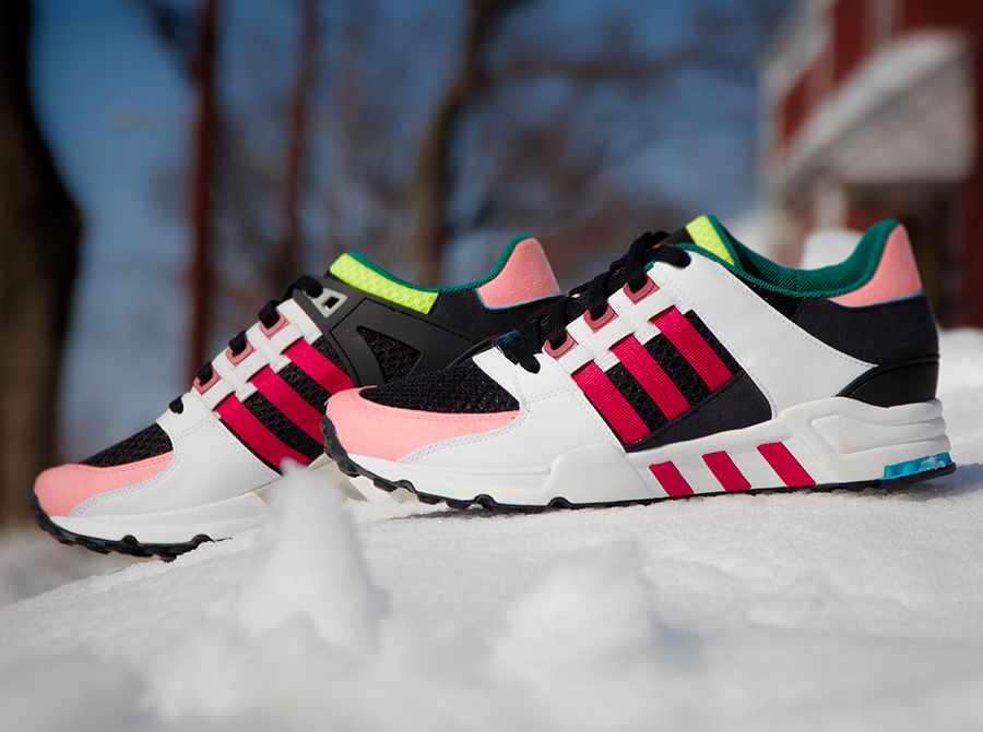 Another Look At The adidas EQT Support RF Primeknit Wonder Pink