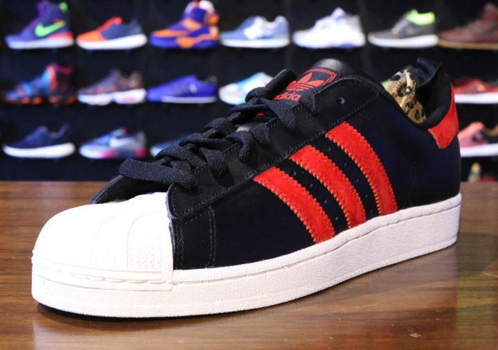 adidas Originals Superstar II Black Red White