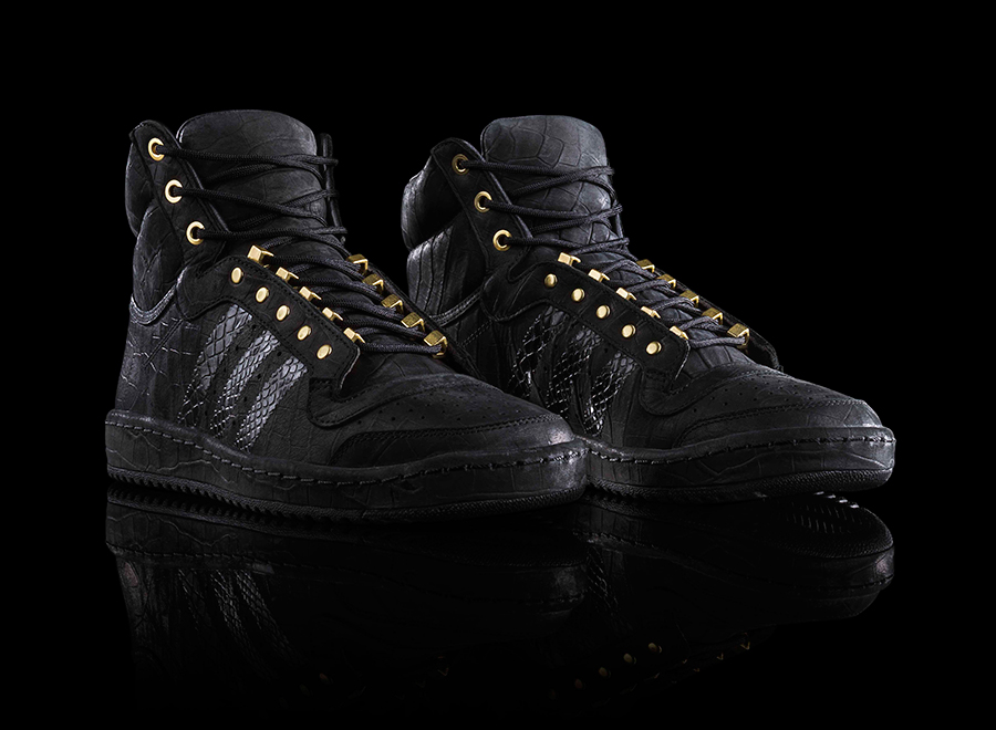 super popular 8470a 0c557 2 Chainz is getting his own adidas sneaker and its a Top Ten Hi. The pair,  which releases on February 15, 2014, features a black base thats upgraded  by ...