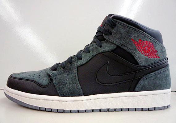 save off ff0cc c8556 black red and grey jordans the inside Nike ...