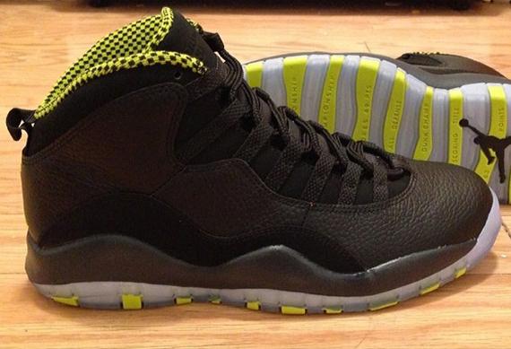 huge discount c6db4 b18e9 Real Nike Air Jordan 10 Venom Green