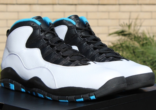 "Air Jordan 10 ""Powder Blue"" – Release Reminder"