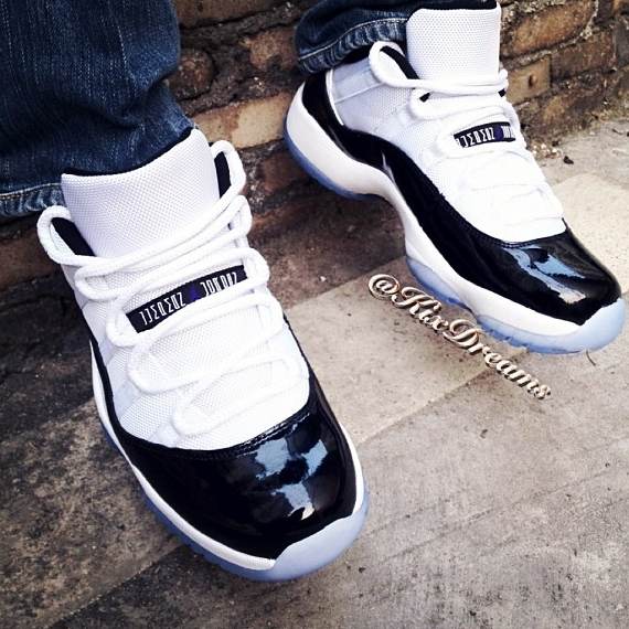 "Concords Release Date 2018 >> Air Jordan 11 Low ""Concord"" - Release Date - SneakerNews.com"