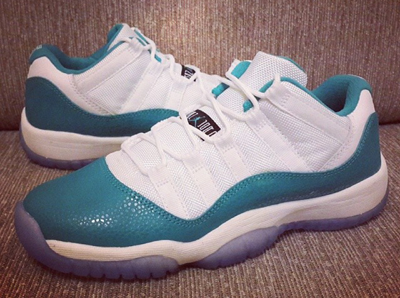 76fc8c9320a A closer look at this new Air Jordan 11 Low GS surfaces
