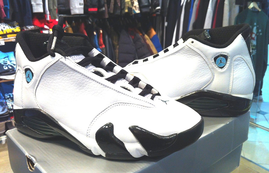 "Air Jordan XIV ""Oxide"" The Air Jordan XIV is a shoe Michael Jordan only  wore in a few games, most notably in his 'Last Shot' sendoff."