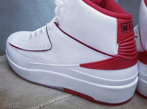54ca0935b5ab Air Jordan 2 - White - Red - SneakerNews.com